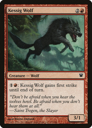 Kessig Wolf [Innistrad] | Pro Gamers and Collectables