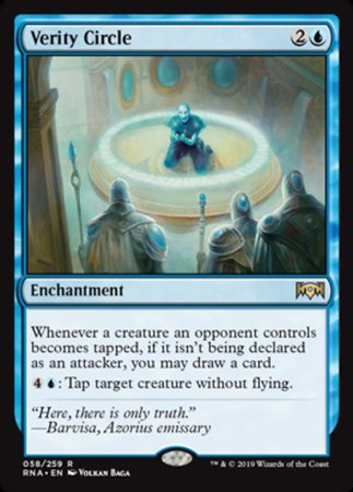 Verity Circle [Ravnica Allegiance] | Pro Gamers and Collectables