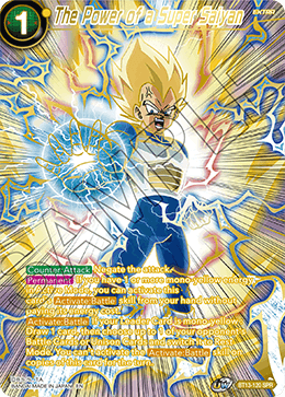 The Power of a Super Saiyan (Special Rare) [BT13-120] | Pro Gamers and Collectables