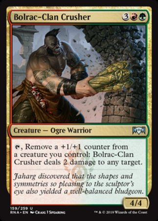Bolrac-Clan Crusher [Ravnica Allegiance] | Pro Gamers and Collectables
