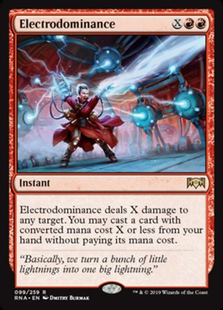 Electrodominance [Ravnica Allegiance] | Pro Gamers and Collectables