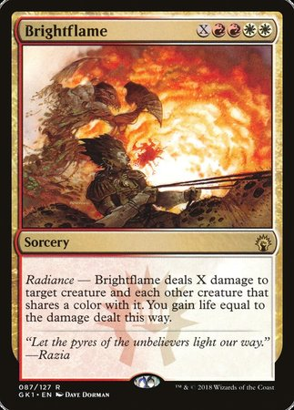 Brightflame [GRN Guild Kit] | Pro Gamers and Collectables