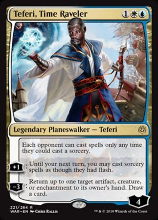 Teferi, Time Raveler [War of the Spark] | Pro Gamers and Collectables