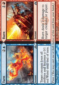 Turn // Burn [Dragon's Maze] | Pro Gamers and Collectables