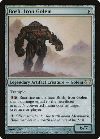 Bosh, Iron Golem [Planechase] | Pro Gamers and Collectables