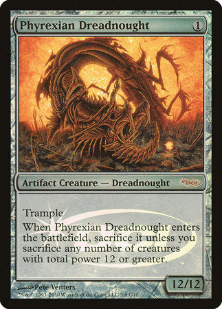 Phyrexian Dreadnought [Judge Gift Cards 2010] | Pro Gamers and Collectables