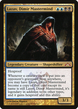 Lazav, Dimir Mastermind [Gatecrash] | Pro Gamers and Collectables
