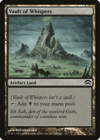 Vault of Whispers [Planechase] | Pro Gamers and Collectables