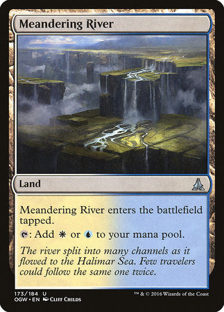 Meandering River [Oath of the Gatewatch] | Pro Gamers and Collectables