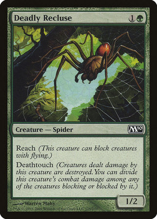 Deadly Recluse [Magic 2010] | Pro Gamers and Collectables
