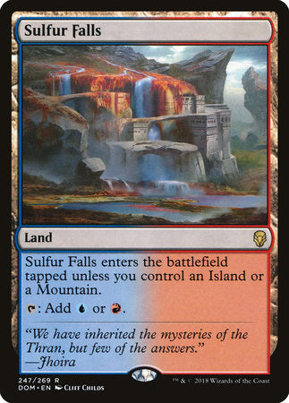 Sulfur Falls [Dominaria] | Pro Gamers and Collectables