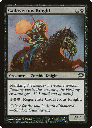 Cadaverous Knight [Planechase] | Pro Gamers and Collectables
