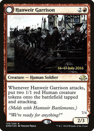 Hanweir Garrison [Eldritch Moon Promos] | Pro Gamers and Collectables