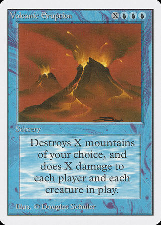 Volcanic Eruption [Unlimited Edition] | Pro Gamers and Collectables