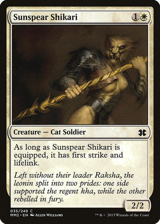Sunspear Shikari [Modern Masters 2015] | Pro Gamers and Collectables