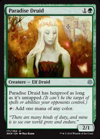Paradise Druid [War of the Spark] | Pro Gamers and Collectables