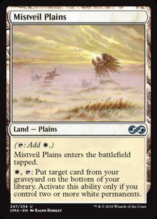 Mistveil Plains [Ultimate Masters] | Pro Gamers and Collectables