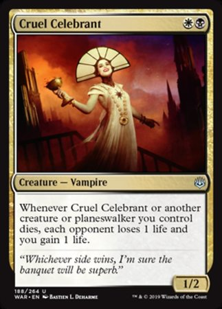 Cruel Celebrant [War of the Spark] | Pro Gamers and Collectables