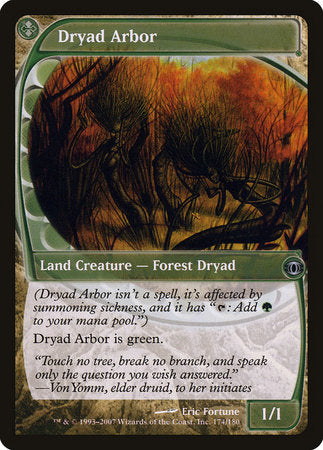 Dryad Arbor [Future Sight] | Pro Gamers and Collectables