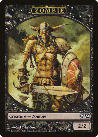 Zombie Token [Magic 2012 Tokens] | Pro Gamers and Collectables