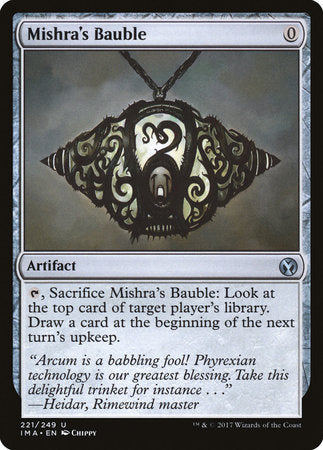 Mishra's Bauble [Iconic Masters] | Pro Gamers and Collectables