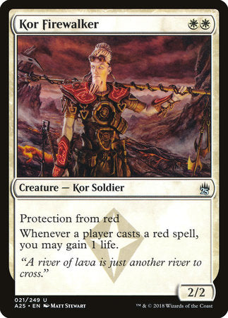 Kor Firewalker [Masters 25] | Pro Gamers and Collectables