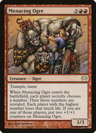 Menacing Ogre [Planechase] | Pro Gamers and Collectables