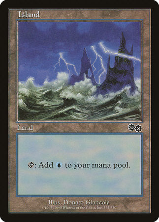 Island (335) [Urza's Saga] | Pro Gamers and Collectables