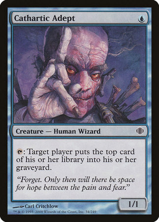 Cathartic Adept [Shards of Alara] | Pro Gamers and Collectables