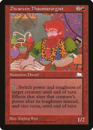 Dwarven Thaumaturgist [Weatherlight] | Pro Gamers and Collectables
