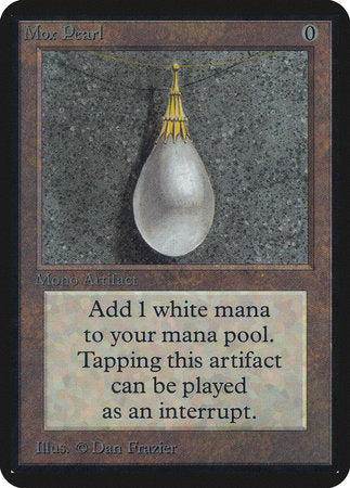 Mox Pearl [Limited Edition Alpha] | Pro Gamers and Collectables