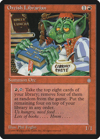 Orcish Librarian [Ice Age] | Pro Gamers and Collectables