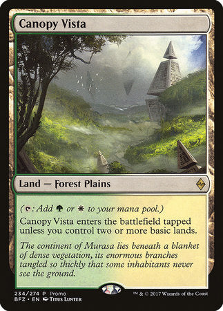 Canopy Vista [BFZ Standard Series] | Pro Gamers and Collectables