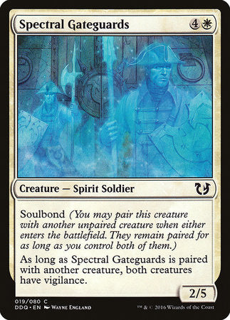 Spectral Gateguards [Duel Decks: Blessed vs. Cursed] | Pro Gamers and Collectables