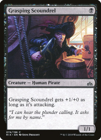 Grasping Scoundrel [Rivals of Ixalan] | Pro Gamers and Collectables