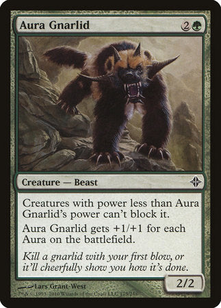 Aura Gnarlid [Rise of the Eldrazi] | Pro Gamers and Collectables