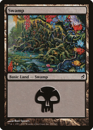 Swamp (291) [Lorwyn] | Pro Gamers and Collectables