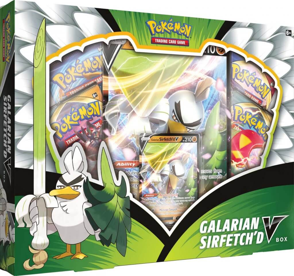 Galarian Sirfetch'd V Box | Pro Gamers and Collectables