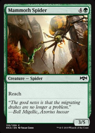 Mammoth Spider [Ravnica Allegiance] | Pro Gamers and Collectables