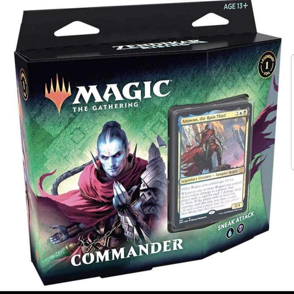 Zendikar Rising Commander Deck Sneak Attack (25/09/2020) | Pro Gamers and Collectables