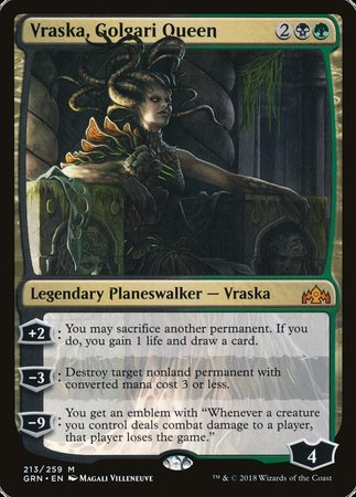 Vraska, Golgari Queen [Guilds of Ravnica] | Pro Gamers and Collectables