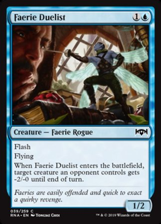 Faerie Duelist [Ravnica Allegiance] | Pro Gamers and Collectables