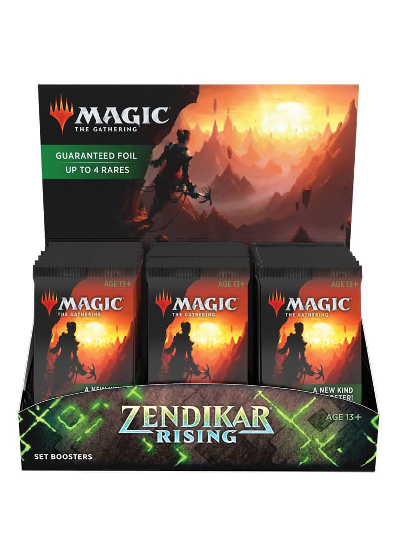 Zendikar Rising Set Booster Box (25/09/2020) | Pro Gamers and Collectables