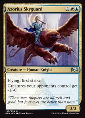 Azorius Skyguard [Ravnica Allegiance] | Pro Gamers and Collectables