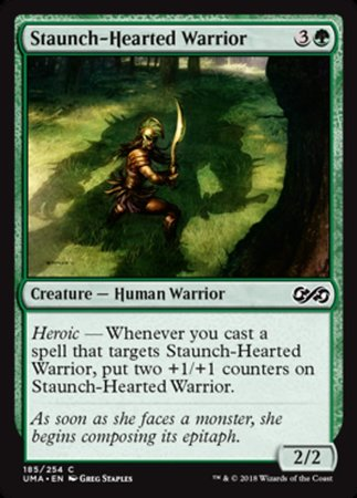 Staunch-Hearted Warrior [Ultimate Masters] | Pro Gamers and Collectables