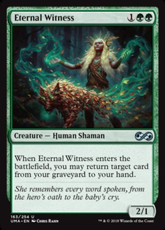 Eternal Witness [Ultimate Masters] | Pro Gamers and Collectables