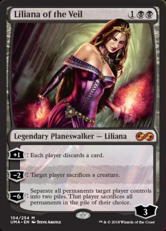 Liliana of the Veil [Ultimate Masters] | Pro Gamers and Collectables