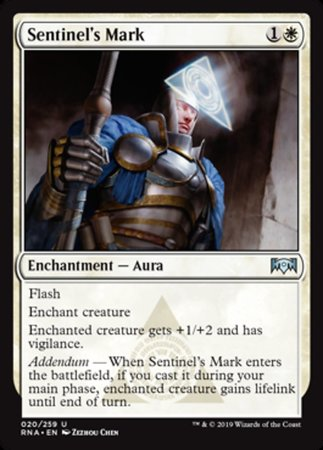 Sentinel's Mark [Ravnica Allegiance] | Pro Gamers and Collectables