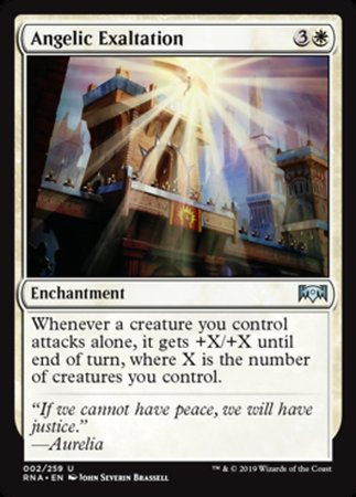 Angelic Exaltation [Ravnica Allegiance] | Pro Gamers and Collectables