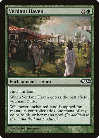 Verdant Haven [Magic 2014] | Pro Gamers and Collectables